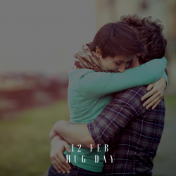 Hug Day - 12th Feb