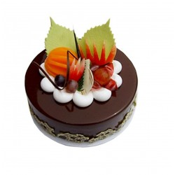 Designer Chocolate Fruit Cake