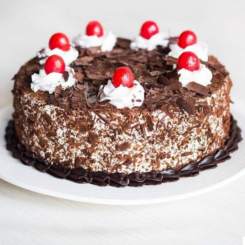 Chocolate And Black Cherry Cake