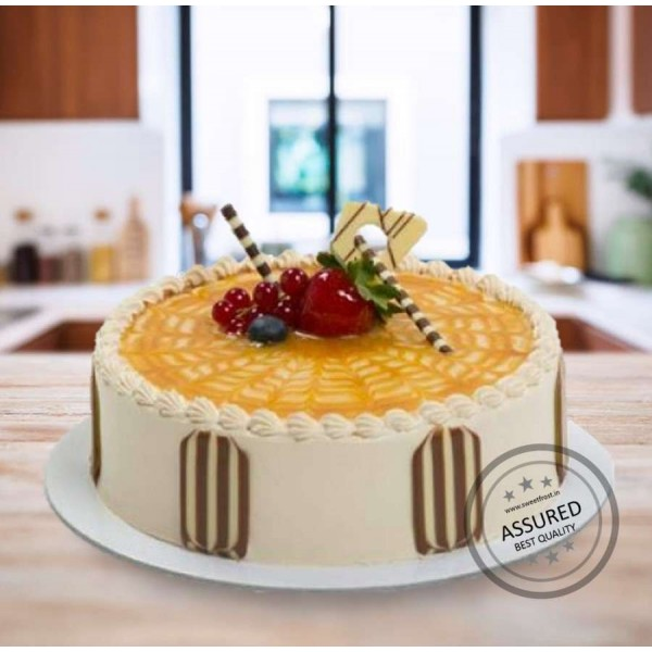Butter Scotch Premium 1Kg Cake