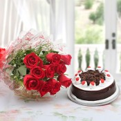Flowers With Cake (28)