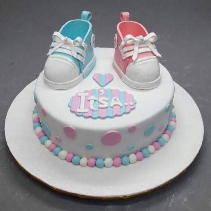 It S A Baby Shower Cake