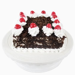 Black Forest Square Cake