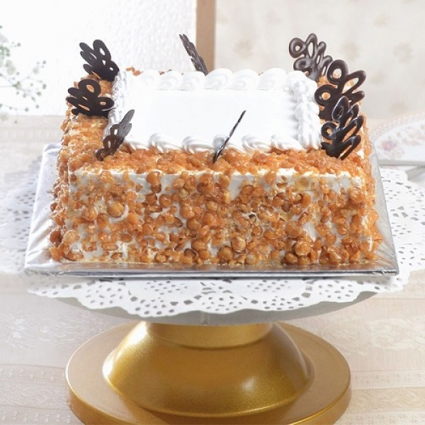 Butter Scotch Square Cake
