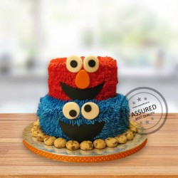 Cookie Monster 5kg Tier Cake
