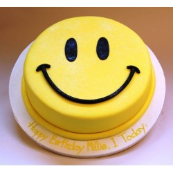 Happy Emoji Cake