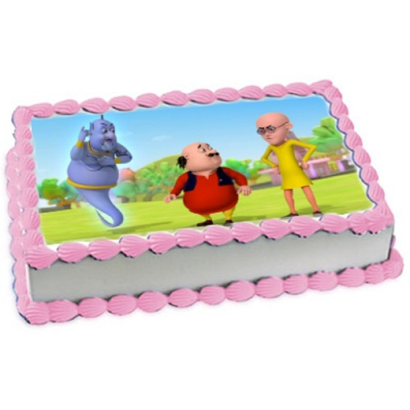 Motu Patlu Photo Cake Online Cake Delivery In Delhi Sweetfrost