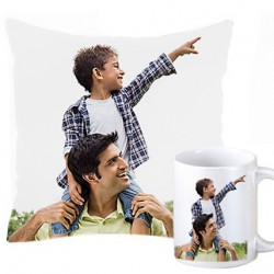Personalized Cushions With Mug