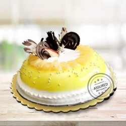 Pineapple Dome Cake