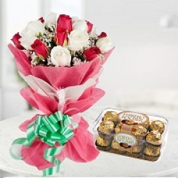Flowers With Chocolate